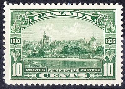 CANADA 1935 10c Green Windsor Castle SG335 MH