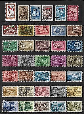 HUNGARY - mixed collection No.41, 1945-1960 issues