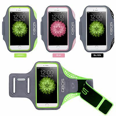 GBOS® Adjustable Armband For iPhone 5/SE/5S/5C Running Jogging Exercise Workout