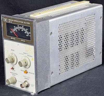 HP 86635A Industrial Plug-In Modulation Section Unit For 8660C Signal Generator