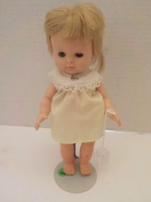 1966 HORSMAN Baby Toddler Doll with Nodding Head feature Works