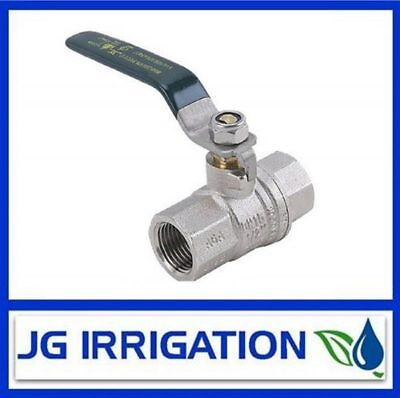 Dual Approved Brass Ball Valves – Plumbing – Irrigation – Gas - 40mm