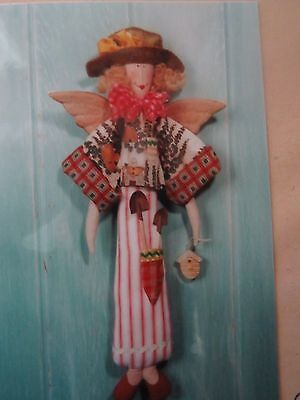 ** MARTHA the GARDEN ANGEL **  Cloth Doll  pattern..by Country Friends