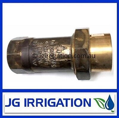 25mm Brass Dual Check Valve