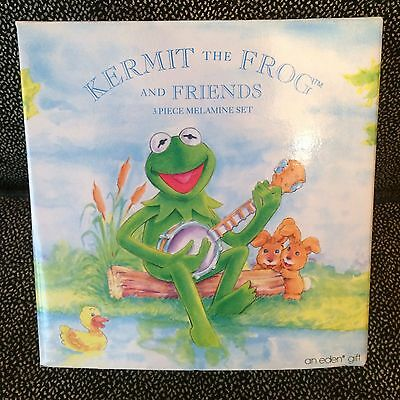 Kermit The Frog And Friends - 3 Piece Melamine Set - New In Box