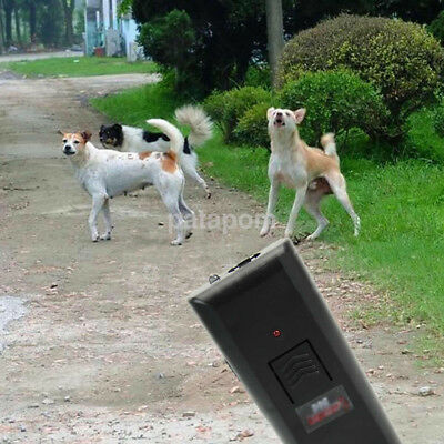 Ultrasonic Anti Bark Control Trainer Device Stop Barking Dog Training Repeller