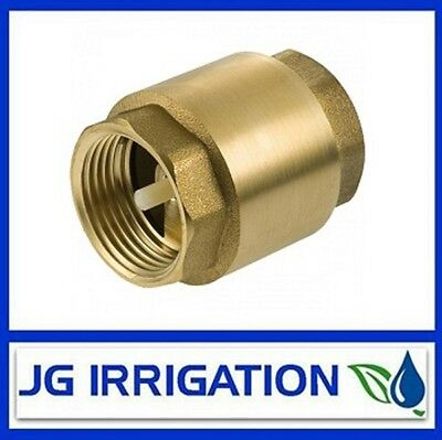 Brass Spring Check Valve - 32mm