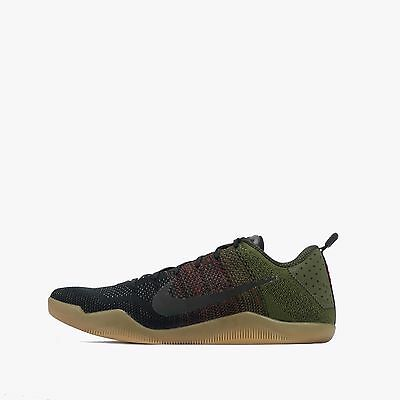 "Nike Kobe XI 11 Elite Low 4kb ""Black Horse"" Men's Basketball Shoes Black/Red"