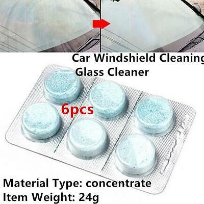 5x6pcs Car Cleaning Fluid Windshield Cleaning Glass Concentrated Cleaner Washer