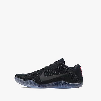 Nike Kobe XI 11 Elite Low Men's Basketball Shoes Black/Black