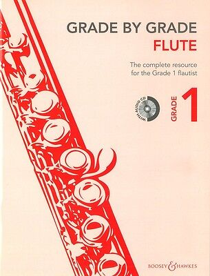 Grade By Grade - Flute Grade 1 - Flute Music Book with CD