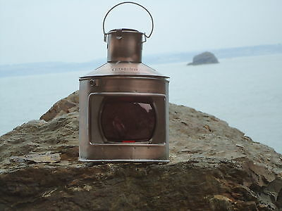 Ships Port Side Copper Lantern -Lamp - Port star board Masthead Red Green Clear
