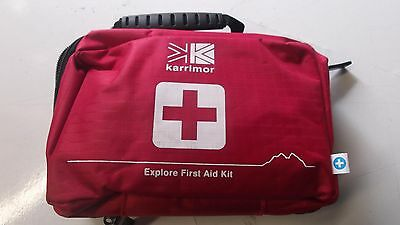 Karrimor Explore First Aid Kit Camping Hiking Car Work Office Rrp £24.99