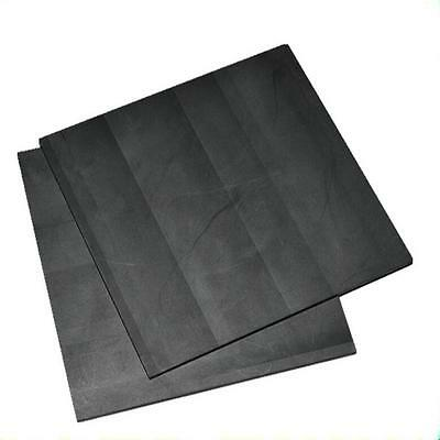 1pc High Purity 99.99% Graphite Electrode Rectangle Plate 100*100*1mm