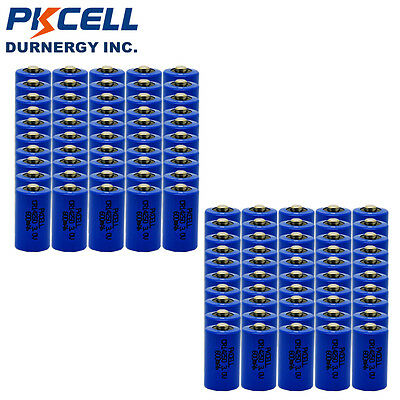 100 Pack 1/2 AA CR14250 3V 600mAh 14250 Lithium Battery Batteries Cell Wholesale