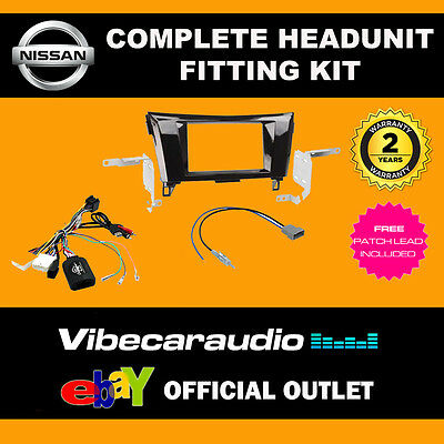 CTKNS05 Connects2 Nissan X-Trail Qashqai 2014 > Double Din Stereo Fitting Kit