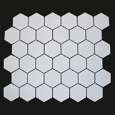 SAMPLE Full Body Hexagon White Mosaic