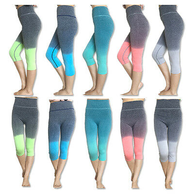 Assorted Color/Size Wholesale Lot of Womens Capri Cropped Leggings, Yoga, Gym