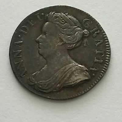 1708 Maundy Threepence 3d, Superb, Queen Anne, Great Britain, UK