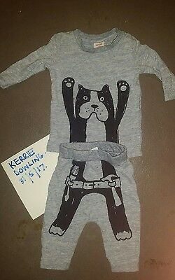 Seed Baby Boys Dog with Tool Belt Print - Size 0 - 3 months 000