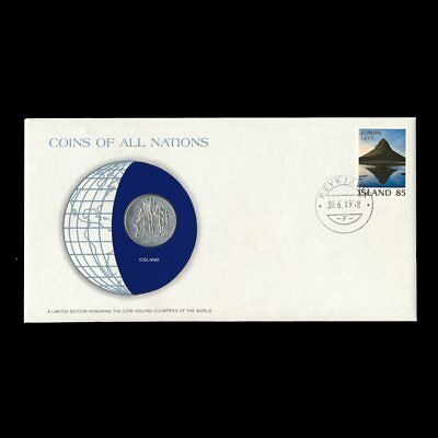 South Korea 1979 10 Won Fdc Unc ─ Coins Of All Nations Uncirculated Stamp Cover