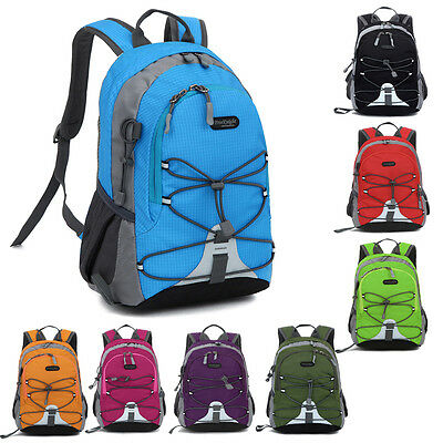 Children Boys Girls Waterproof Sport Backpack  Travel Rucksack School Bag light#