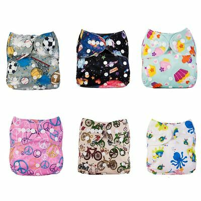 Washable Soft Cloth Nappies Reusable Pocket Baby Diaper