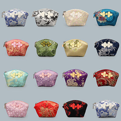 Wholesale 20pcs Chinese Handmade Vintage Cloth Coin Purse Jewerly Pouch Gift Bag