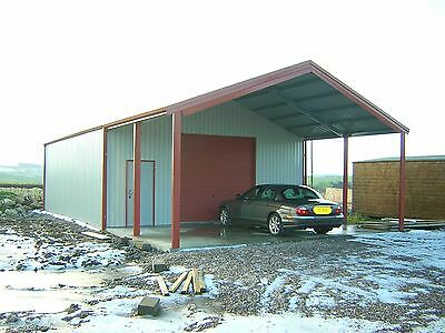 Steel Framed Industrial/Agricultural Building - Big Spec