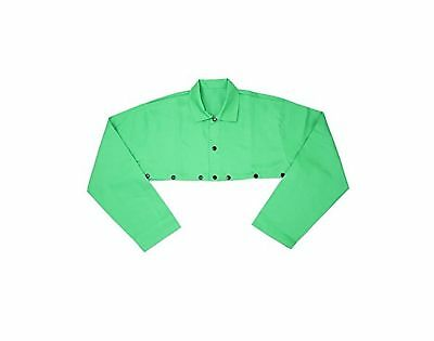 IRONCAT 7051/L Irontex FR Cotton Cape Sleeve Large Green (Pack of 1)
