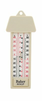 Baker Instruments MM2P Max-Min Thermometer Beige