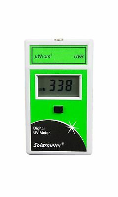 Solarmeter Model 6.2 Sensitive UVB Meter For Reptile Lamps - Measures 280-320...