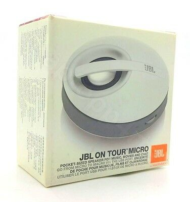 Genuine JBL On Tour Micro Portable iPod iPhone iPad MP3 Laptop PC Speaker System