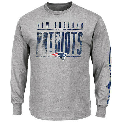 New England Patriots Officially licenced Team Apparel Long Sleeve T-shirt