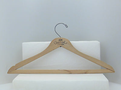 Mackinac Island GRAND HOTEL - Unique wLOGO Souvenir Wooden Hanger by NAGEL