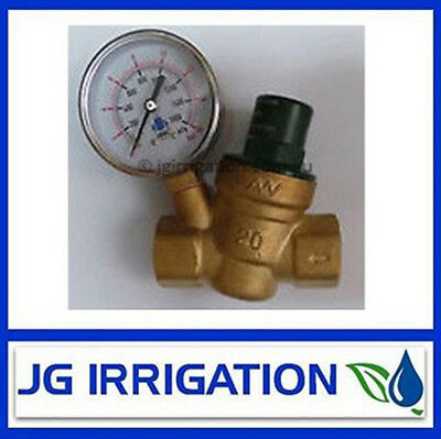 Brass Pressure Reducing Valve 20mm BSP