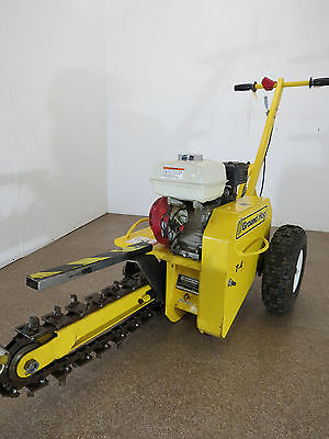 Grounghog T-4 Mini Trencher- Excellent Condition- 2013 model