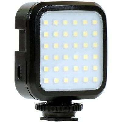 LED Video Light Shoe Mount F/ EOS Rebel T6i T5i T5 T4i T3i SL1 18-55 LED SLR