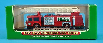 Hess miniature fire truck 1999