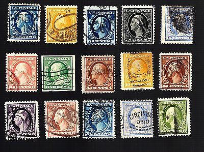 U.S. Stamp Collection Small lot of early used! 0153
