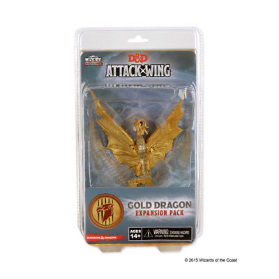 Dungeons & Dragons Attack Wing - Gold Dragon Expansion Pack