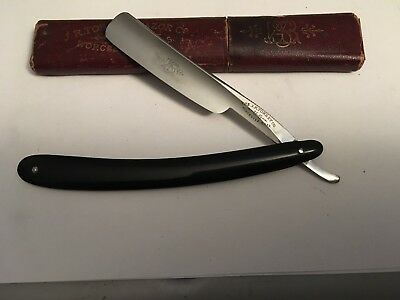 """Vintage Near Mint 11/16"""" RP J.R. Torrey Co. Razor Shave Ready Made In USA"""