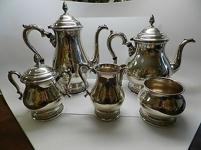 Vintage International Prelude  Sterling Silver Tea/coffee Five Piece Set
