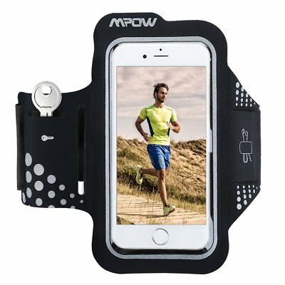 Mpow Gym Running sports Armband Case Holder Pouch for iPhone 7 6 Samsung HTC