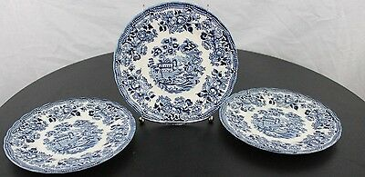 "Vintage Lot of 3 The Georgian Collection English Churchill 7"" Bread Plate"