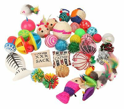Fashion's Talk Cat toys Variety Pack for Kitty 20 pieces *SAME DAY DESPATCH*