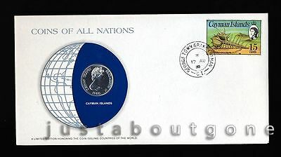 Lot198 Fdc Unc ─ Coins Of All Nations Uncirculated Stamp Cover