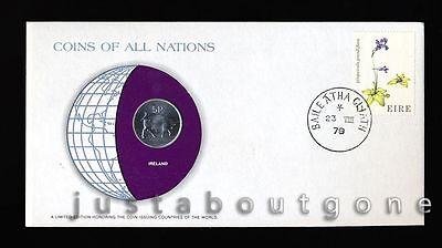Lot181 Fdc Unc ─ Coins Of All Nations Uncirculated Stamp Cover