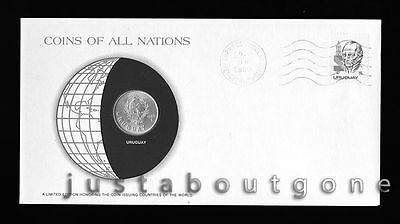 Lot168 Fdc Unc ─ Coins Of All Nations Uncirculated Stamp Cover