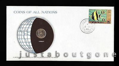 Lot185 Fdc Unc ─ Coins Of All Nations Uncirculated Stamp Cover